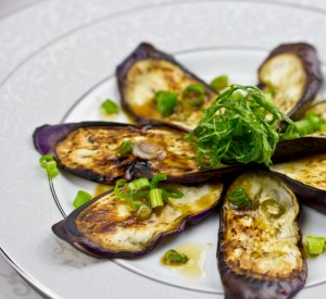 Eggplant with Sesame Ponzu Sauce